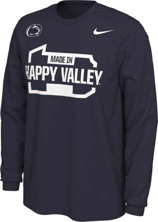 Nike Men's Penn State Nittany Lions Blue Happy Valley Mantra Long Sleeve T-Shirt product image