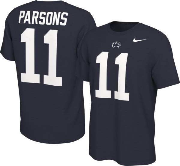 Nike Men's Penn State Nittany Lions Micah Parsons #11 Blue Football Jersey T-Shirt product image