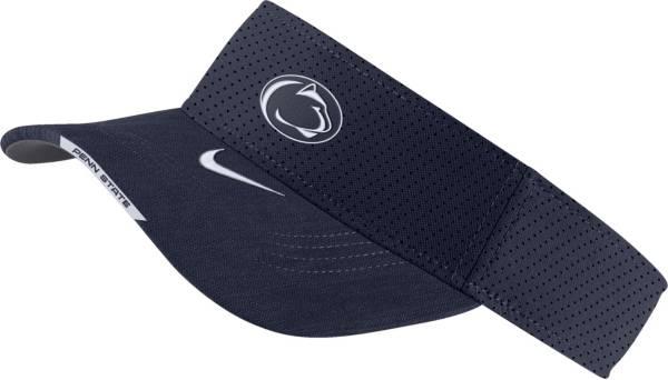 Nike Men's Penn State Nittany Lions Blue Aero Football Sideline Visor product image