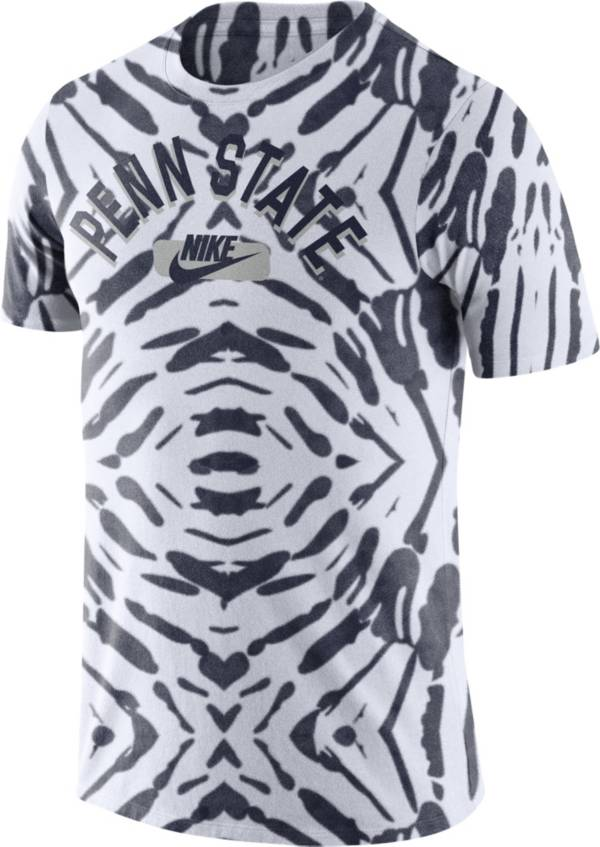 Nike Men's Penn State Nittany Lions White Tie-Dye Festival T-Shirt product image