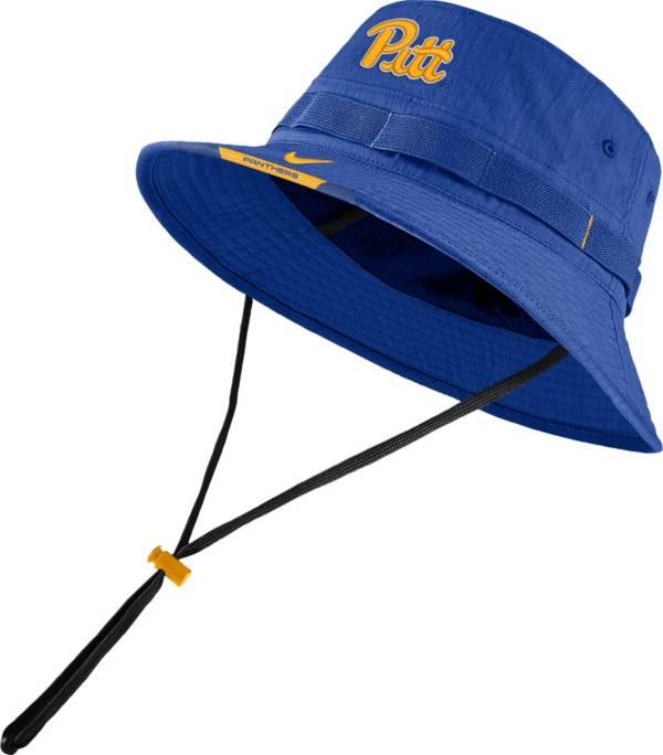Nike Men's Pitt Panthers Blue Dri-FIT Football Sideline Bucket Hat product image