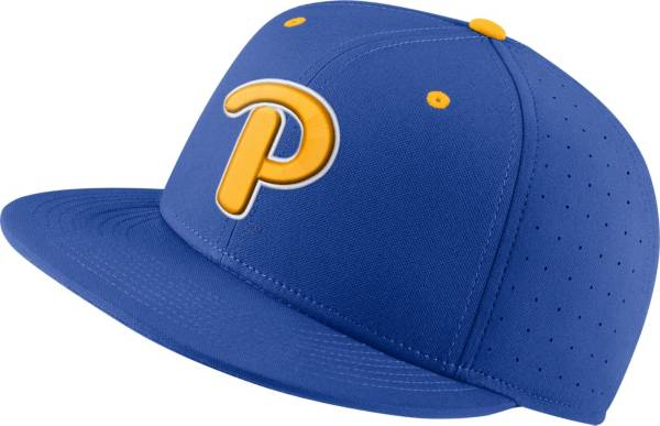 Nike Men's Pitt Panthers Blue Fitted Baseball Hat product image