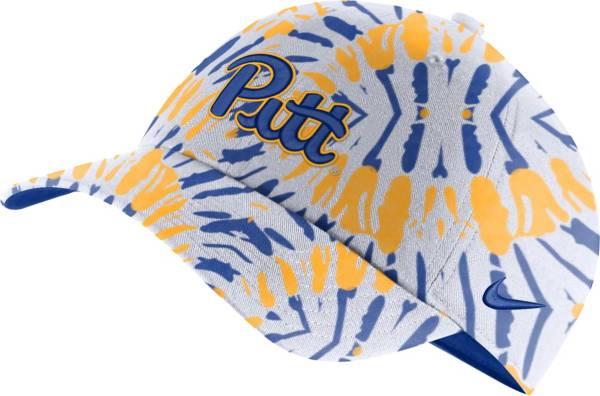 Nike Men's Pitt Panthers Blue Tie-Dye Heritage86 Festival Hat product image