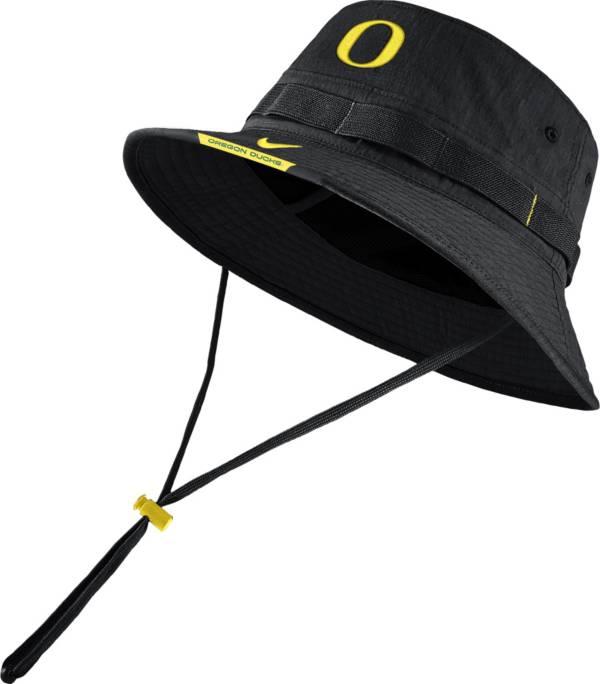 Nike Men's Oregon Ducks Dri-FIT Football Sideline Bucket Black Hat product image