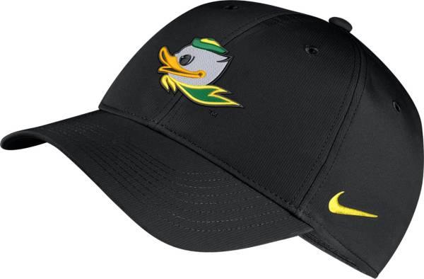 Nike Men's Oregon Ducks Legacy91 Adjustable Black Hat product image