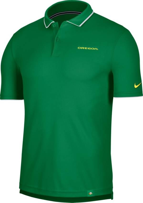 Nike Men's Oregon Ducks Green Dri-FIT UV Polo product image