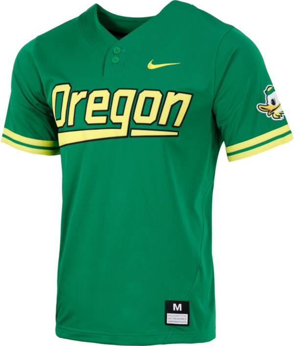 Nike Men's Oregon Ducks Green Dri-FIT Replica Baseball Jersey product image