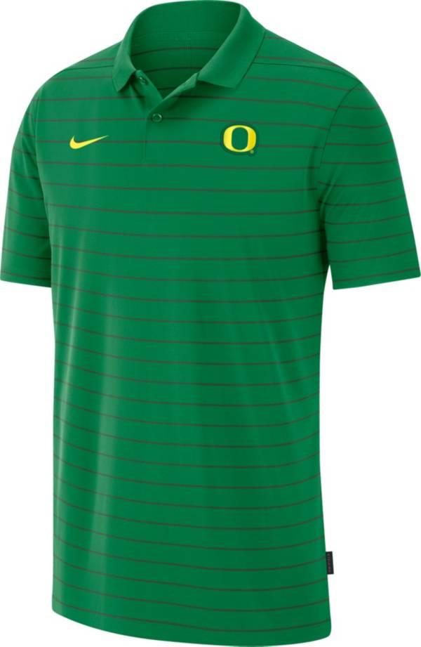 Nike Men's Oregon Ducks Green Football Sideline Victory Polo product image
