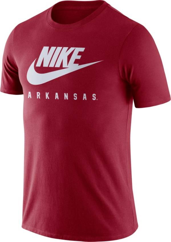 Nike Men's Arkansas Razorbacks Cardinal Futura T-Shirt product image