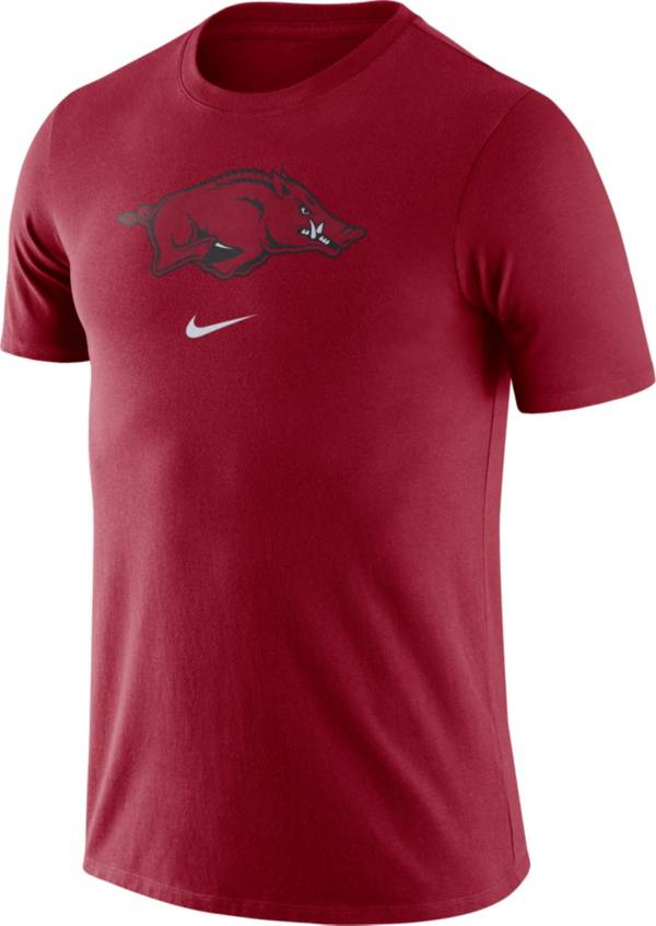 Nike Men's Arkansas Razorbacks Cardinal Essential Logo T-Shirt product image