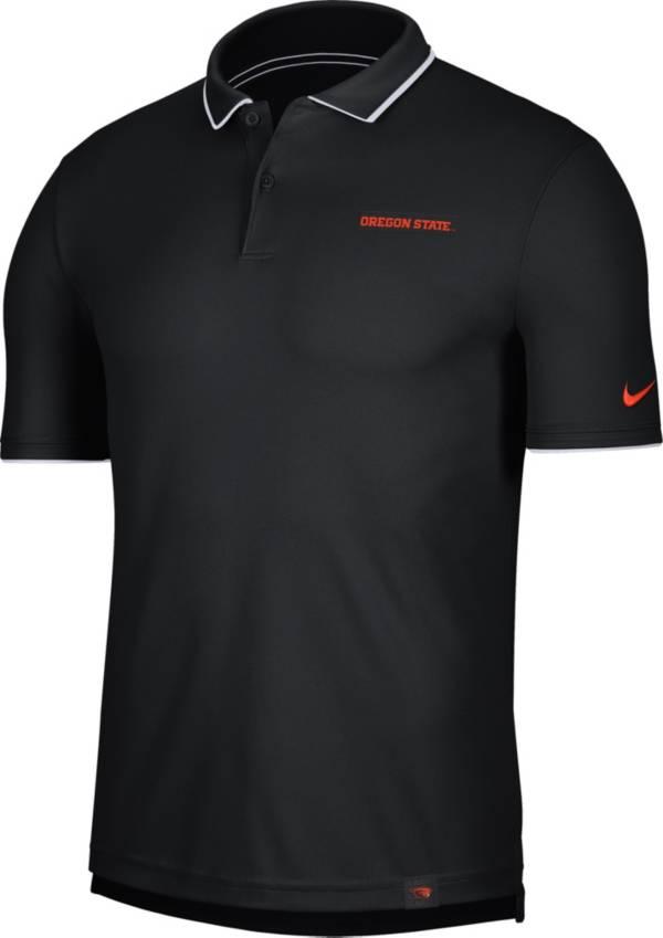 Nike Men's Oregon State Beavers Dri-FIT UV Black Polo product image