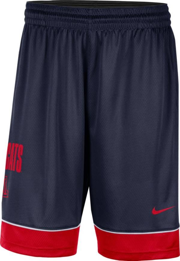 Nike Men's Arizona Wildcats Navy Dri-FIT Basketball Shorts product image