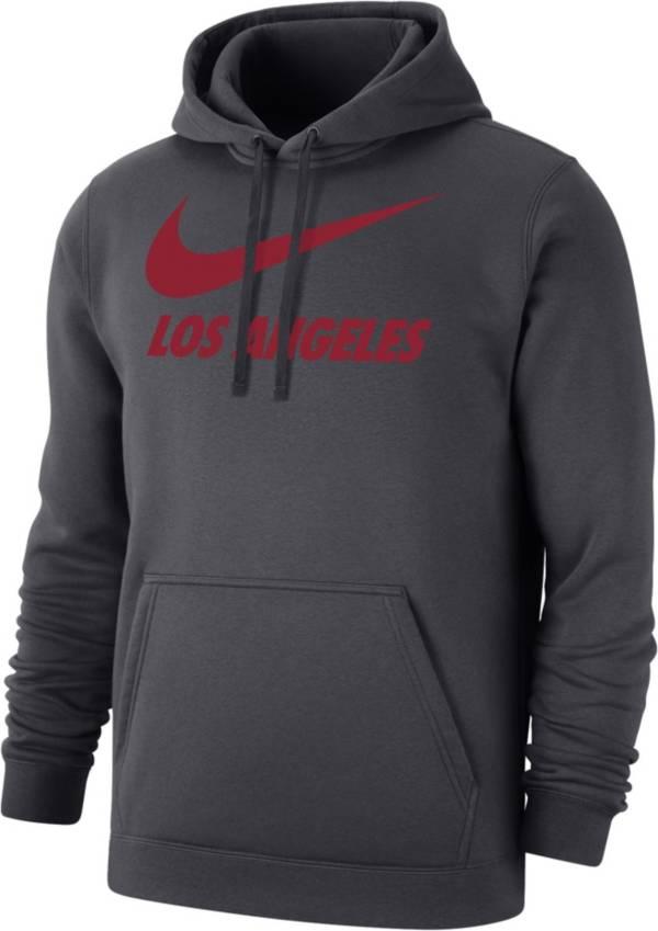 Nike Men's Los Angeles Grey City Pullover Hoodie product image