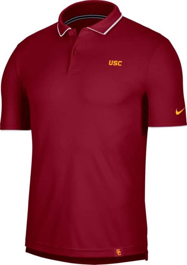 Nike Men's USC Trojans Cardinal Dri-FIT UV Polo product image