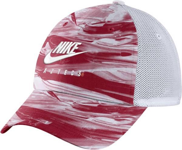 Nike Men's San Diego State Aztecs Scarlet/White H86 Spring Break Adjustable Hat product image
