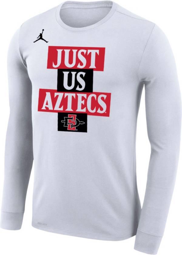 Jordan Men's San Diego State Aztecs 'Just Us' Bench Long Sleeve T-Shirt product image