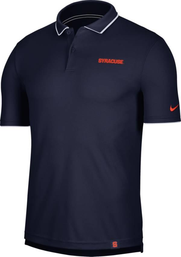 Nike Men's Syracuse Orange Blue Dri-FIT UV Polo product image