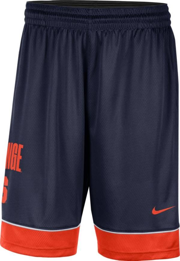 Nike Men's Syracuse Orange Blue Dri-FIT Basketball Shorts product image
