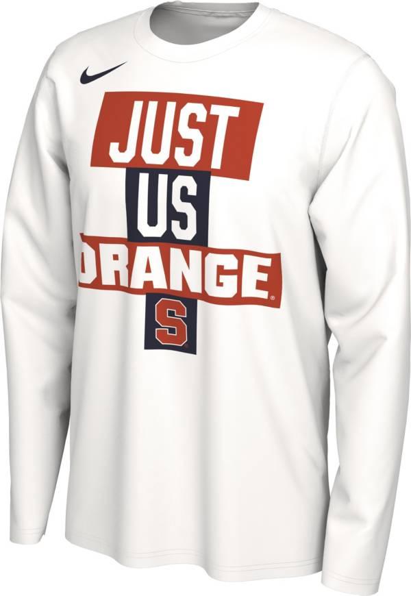 Nike Men's Syracuse Orange 'Just Us' Bench Long Sleeve T-Shirt product image