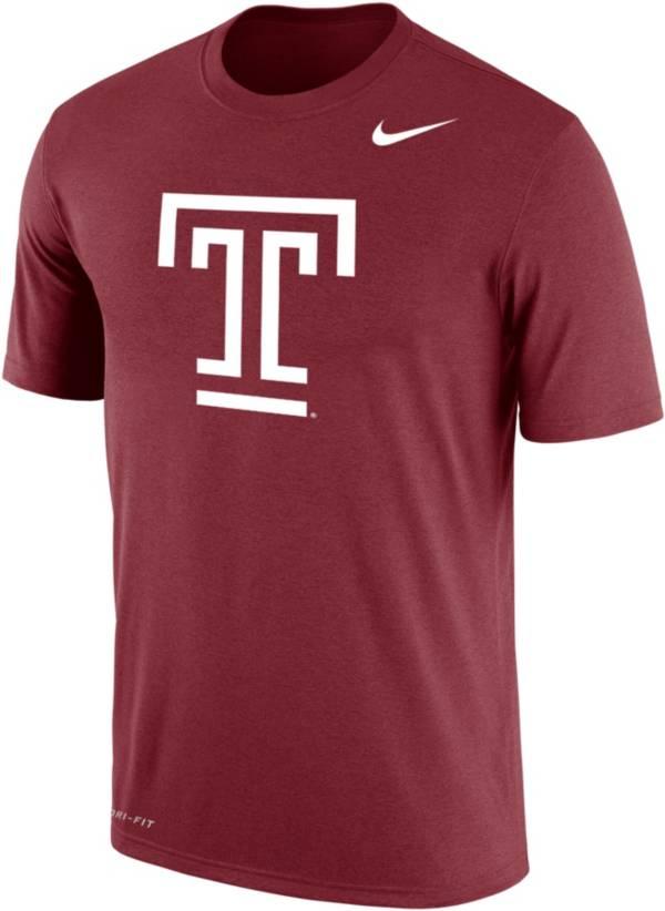 Nike Men's Temple Owls Cherry Dri-FIT Cotton T-Shirt product image