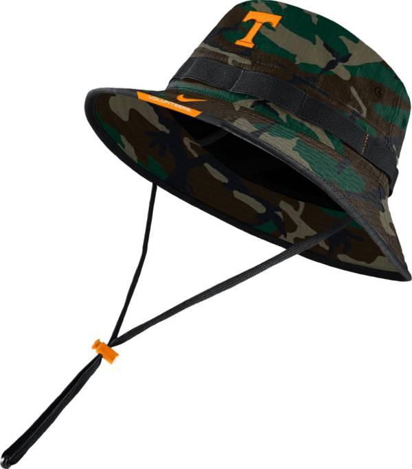 Nike Men's Tennessee Volunteers Camo Dri-FIT Football Sideline Bucket Hat product image