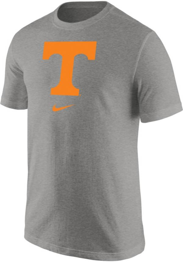 Nike Men's Tennessee Volunteers Grey Core Cotton Logo T-Shirt product image
