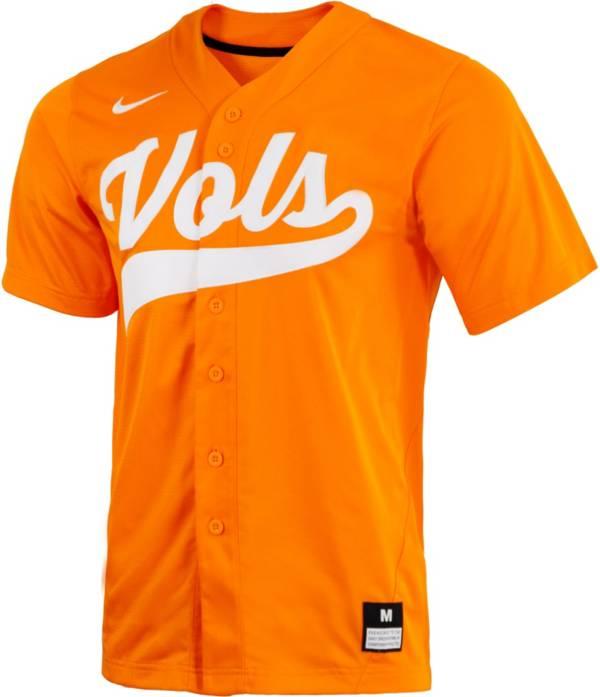 Nike Men's Tennessee Volunteers Tennessee Orange Dri-FIT Replica Baseball Jersey product image