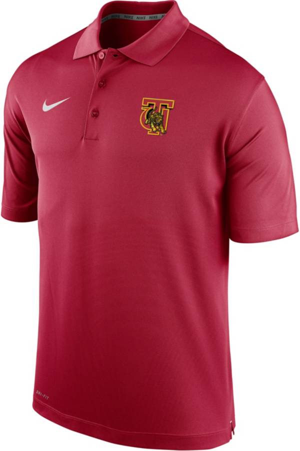 Nike Men's Tuskegee Golden Tigers Crimson Varsity Polo product image