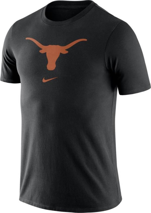 Nike Men's Texas Longhorns Essential Logo Black T-Shirt product image