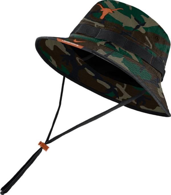 Nike Men's Texas Longhorns Camo Dri-FIT Football Sideline Bucket Hat product image