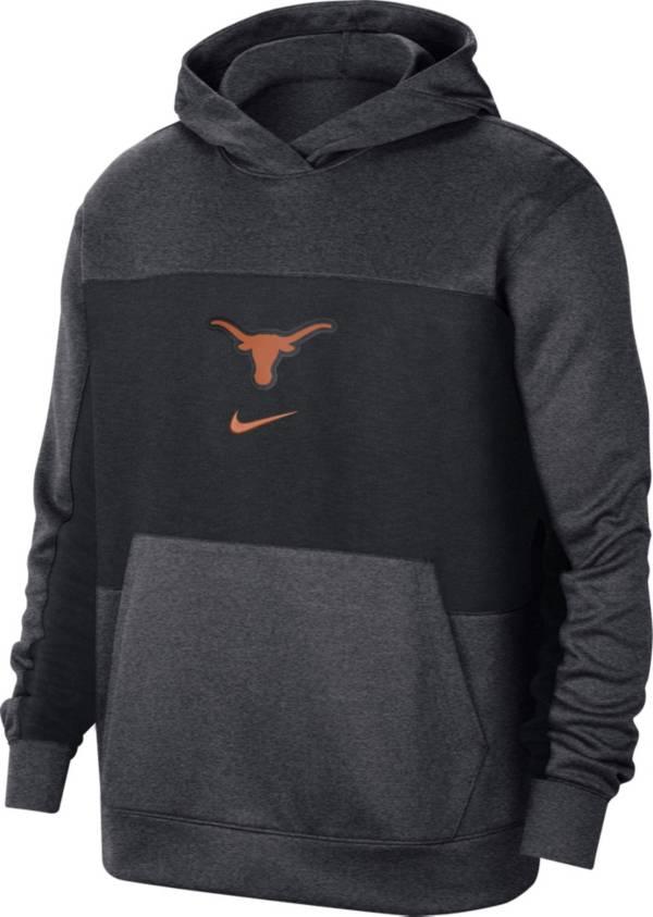 Nike Men's Texas Longhorns Grey Dri-FIT Spotlight Pullover Hoodie product image