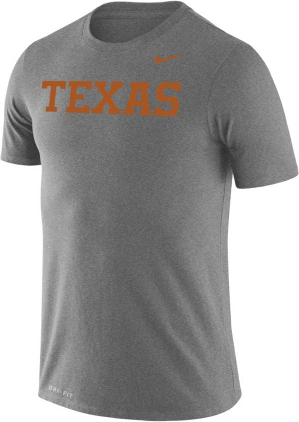 Nike Men's Texas Longhorns Grey Dri-FIT Legend T-Shirt product image