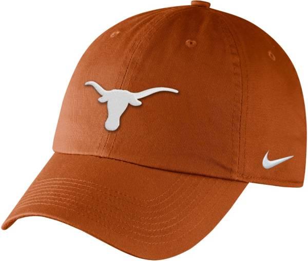 Nike Men's Texas Longhorns Burnt Orange Campus Adjustable Hat product image