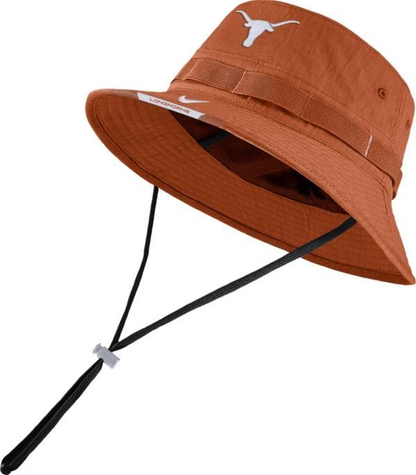 Nike Men's Texas Longhorns Burnt Orange Dri-FIT Football Sideline Bucket Hat product image