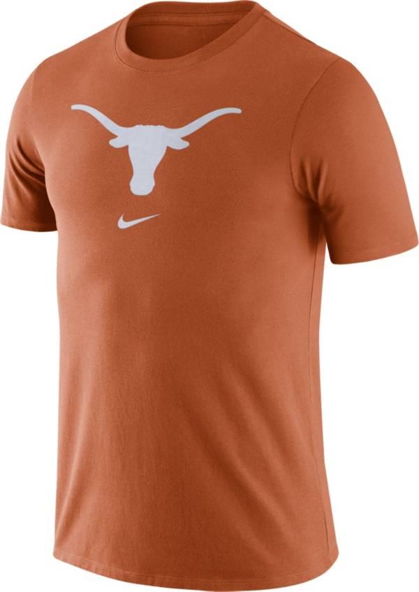 Nike Men's Texas Longhorns Burnt Orange Essential Logo T-Shirt product image