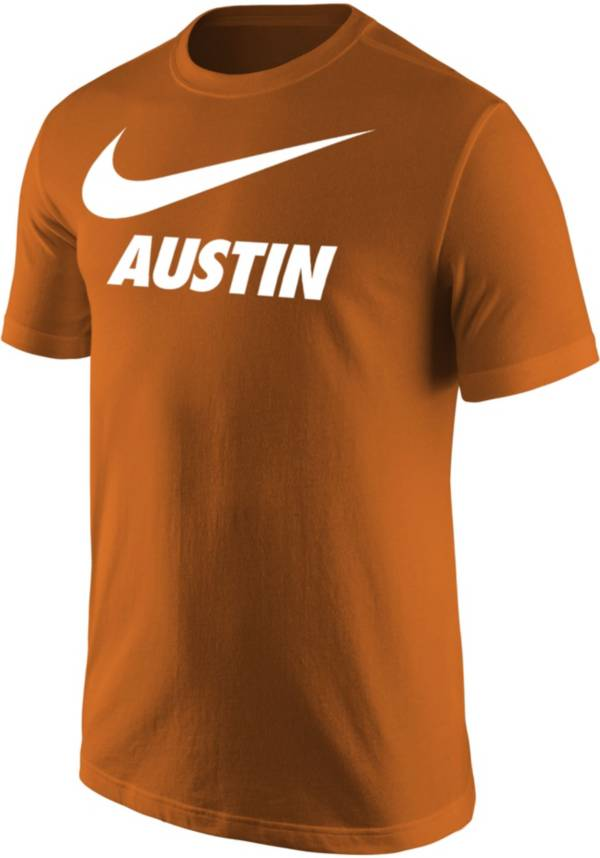 Nike Men's Austin Burnt Orange City T-Shirt product image