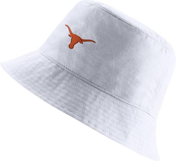 Nike Men's Texas Longhorns Core Bucket White Hat product image