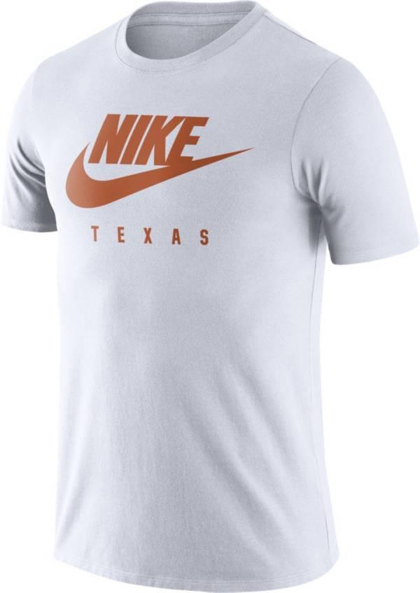 Nike Men's Texas Longhorns White Futura T-Shirt product image