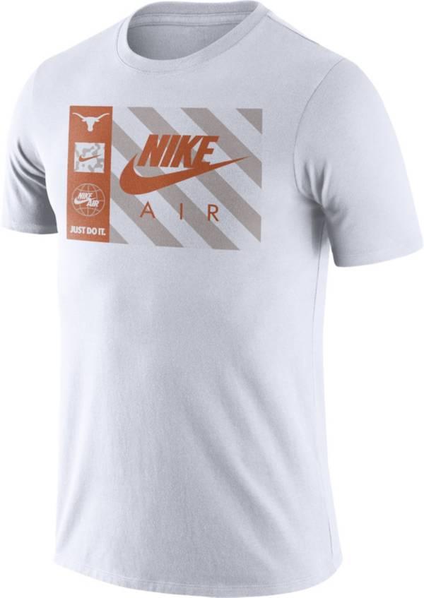 Nike Men's Texas Longhorns Seasonal White T-Shirt product image