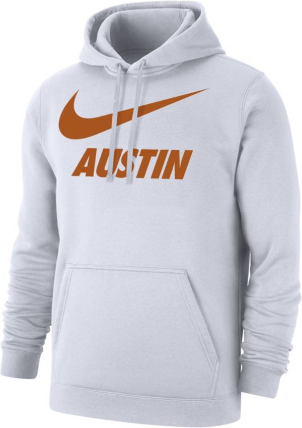 Nike Men's Austin City Pullover White Hoodie product image
