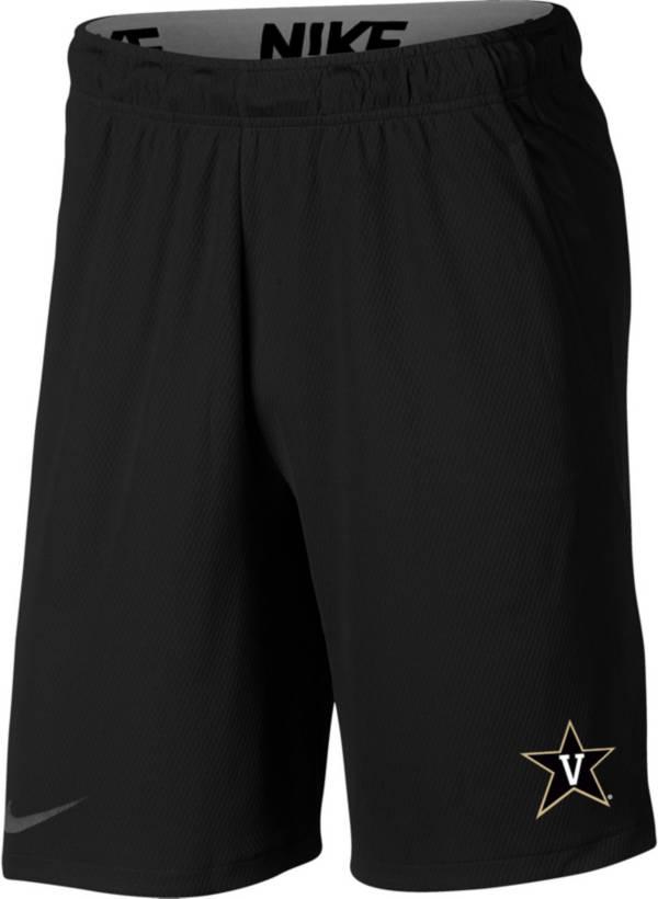Nike Men's Vanderbilt Commodores Dri-FIT Hype Black Shorts product image