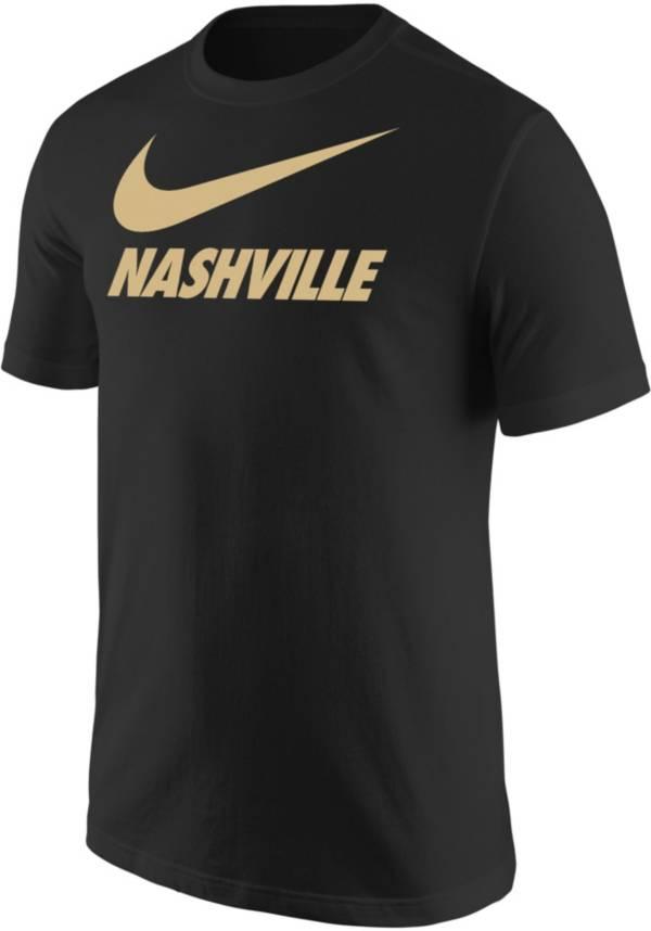 Nike Men's Nashville City Black T-Shirt product image