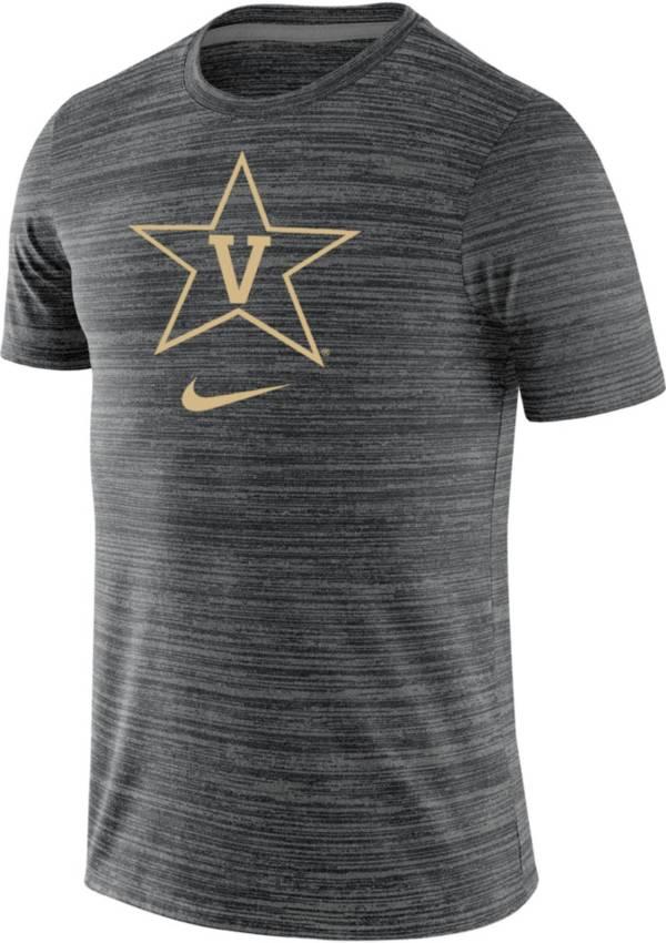 Nike Men's Vanderbilt Commodores Velocity Legend Heathered Black T-Shirt product image
