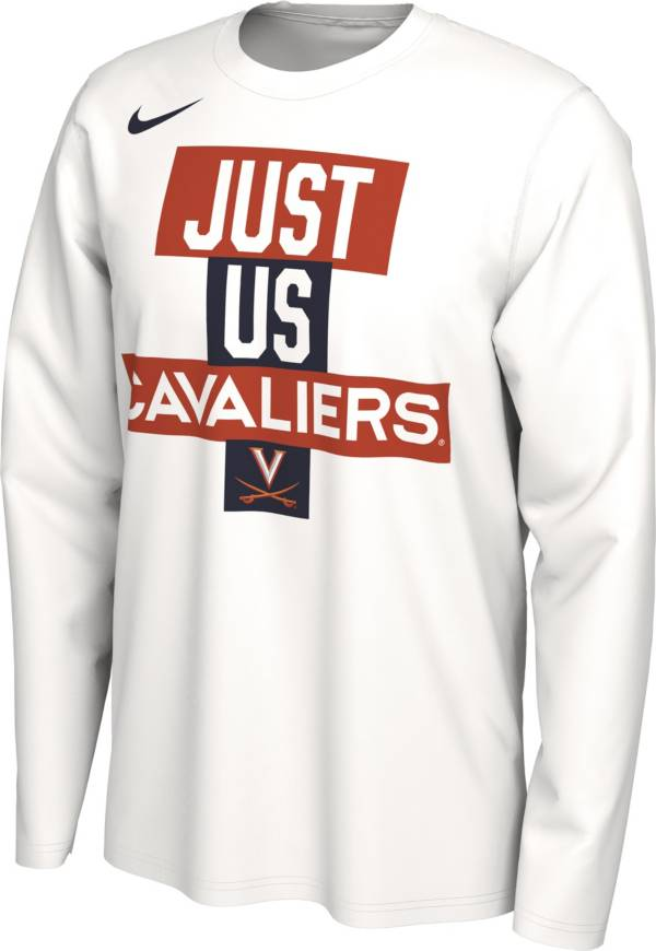 Nike Men's Virginia Cavaliers 'Just Us' Bench Long Sleeve T-Shirt product image
