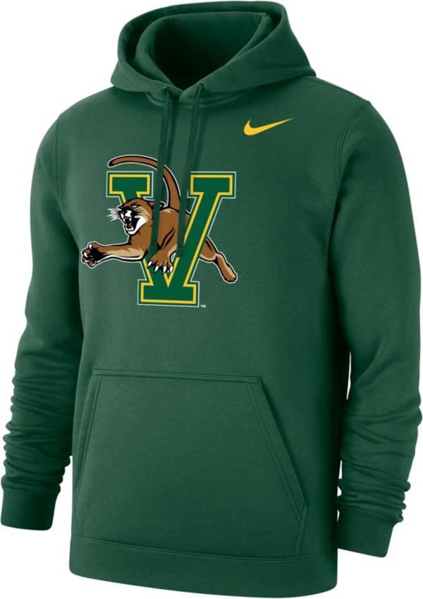 Nike Men's Vermont Catamounts Green Club Fleece Pullover Hoodie product image