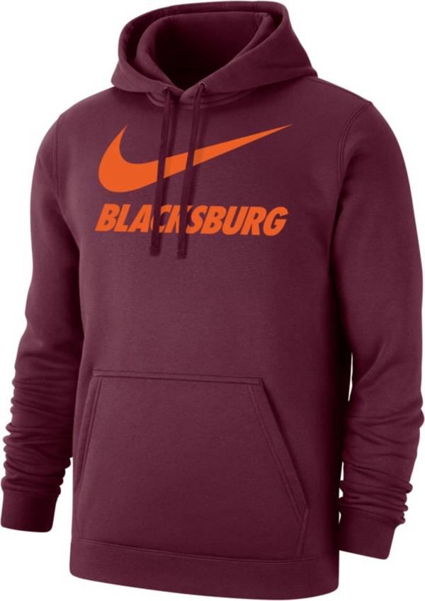 Nike Men's Blacksburg Maroon City Pullover Hoodie product image