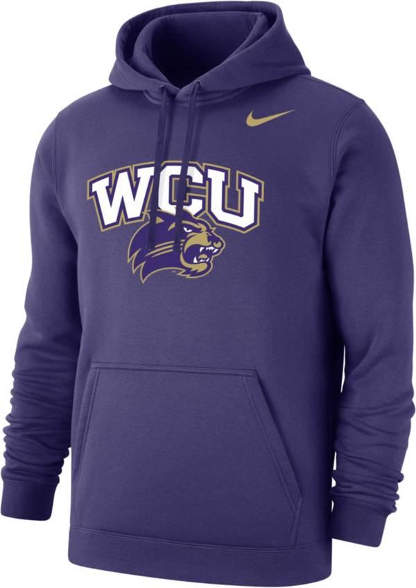 Nike Men's Western Carolina Catamounts Purple Club Fleece Pullover Hoodie product image