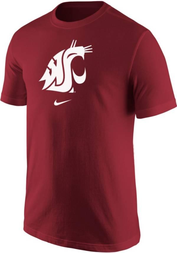 Nike Men's Washington State Cougars Crimson Core Cotton Logo T-Shirt product image