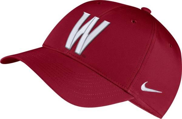 Nike Men's Washington State Cougars Crimson Legacy91 Adjustable Hat product image