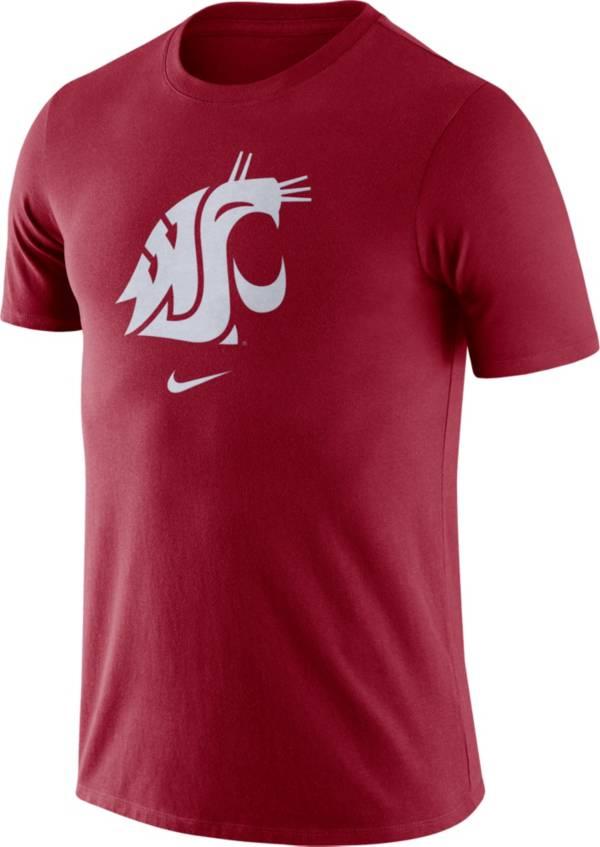 Nike Men's Washington State Cougars Crimson Essential Logo T-Shirt product image